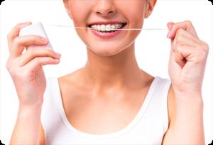 west jordan ut orthodontist floss threader braces