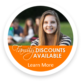 family discounts available